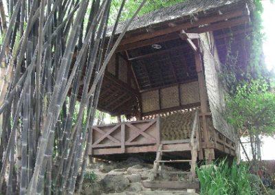 Tradisional Gartenhaus - Saung Sunda