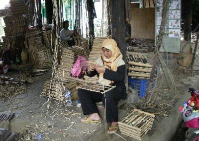 Angklung - Bambus-Musik-Instrument